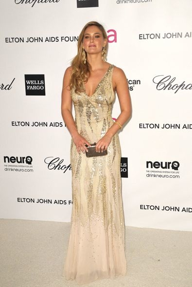 Bar Refaeli at the 20th Anniversary Elton John AIDS Foundation Academy Awards Viewing Party