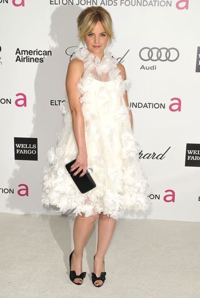 Mena Suvari at the 20th Annual Elton John AIDS Foundation Academy Awards Viewing Party