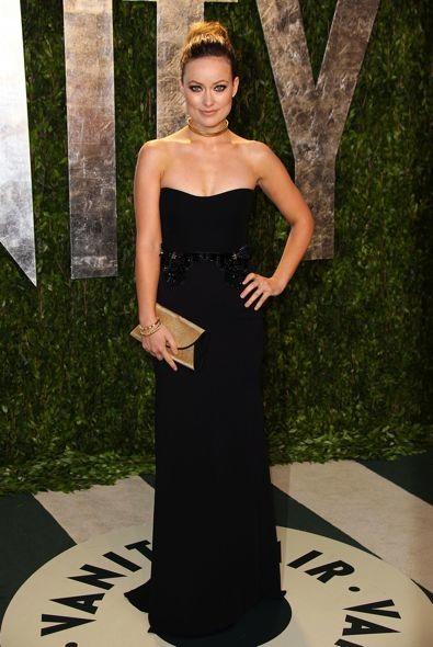 Olivia Wilde at the 2012 Vanity Fair Oscar Party