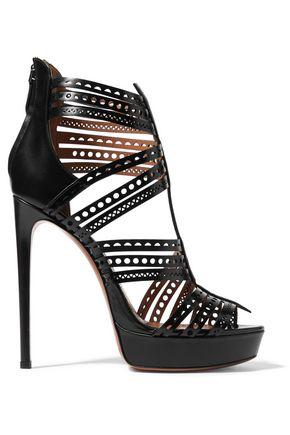 Ankle Height Sandal Splurge: Alaïa