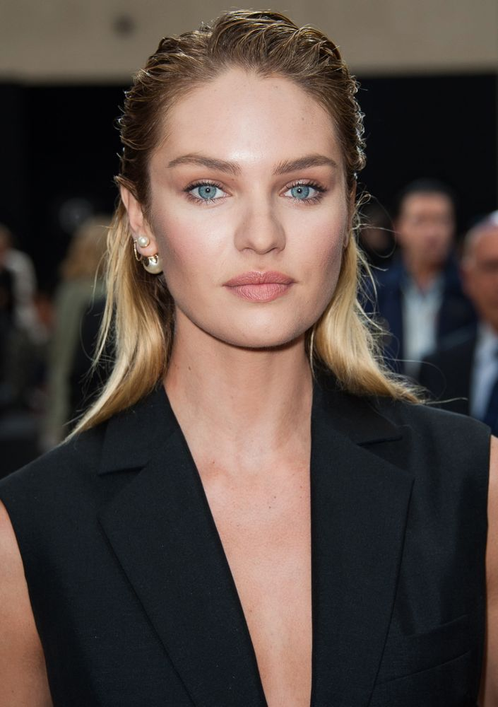 Candice Swanepoel at Dior Homme