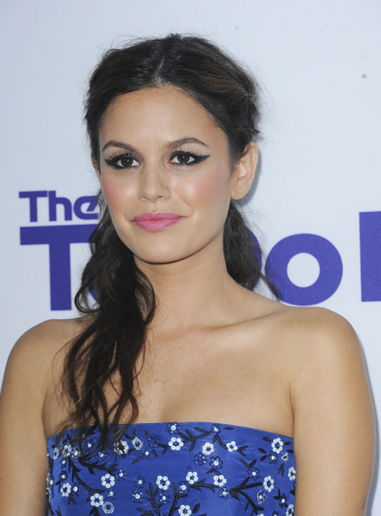 Rachel Bilson's Twisted Do