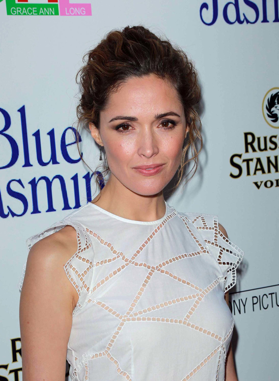Rose Byrne's Textured Updo