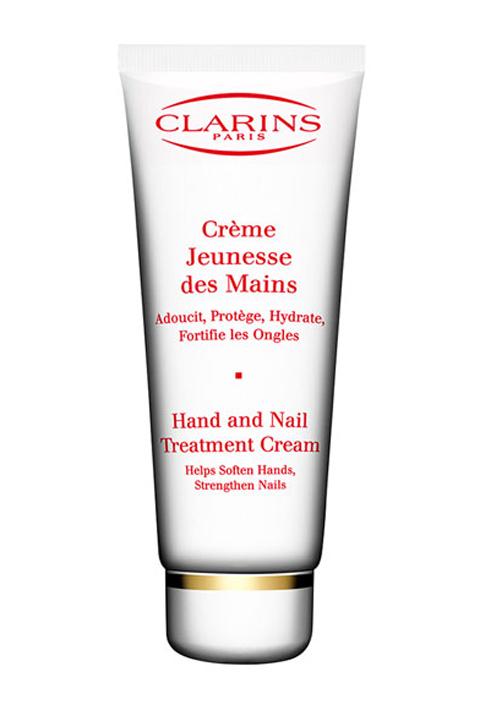 1. Clarins Hand and Nail Treatment Cream