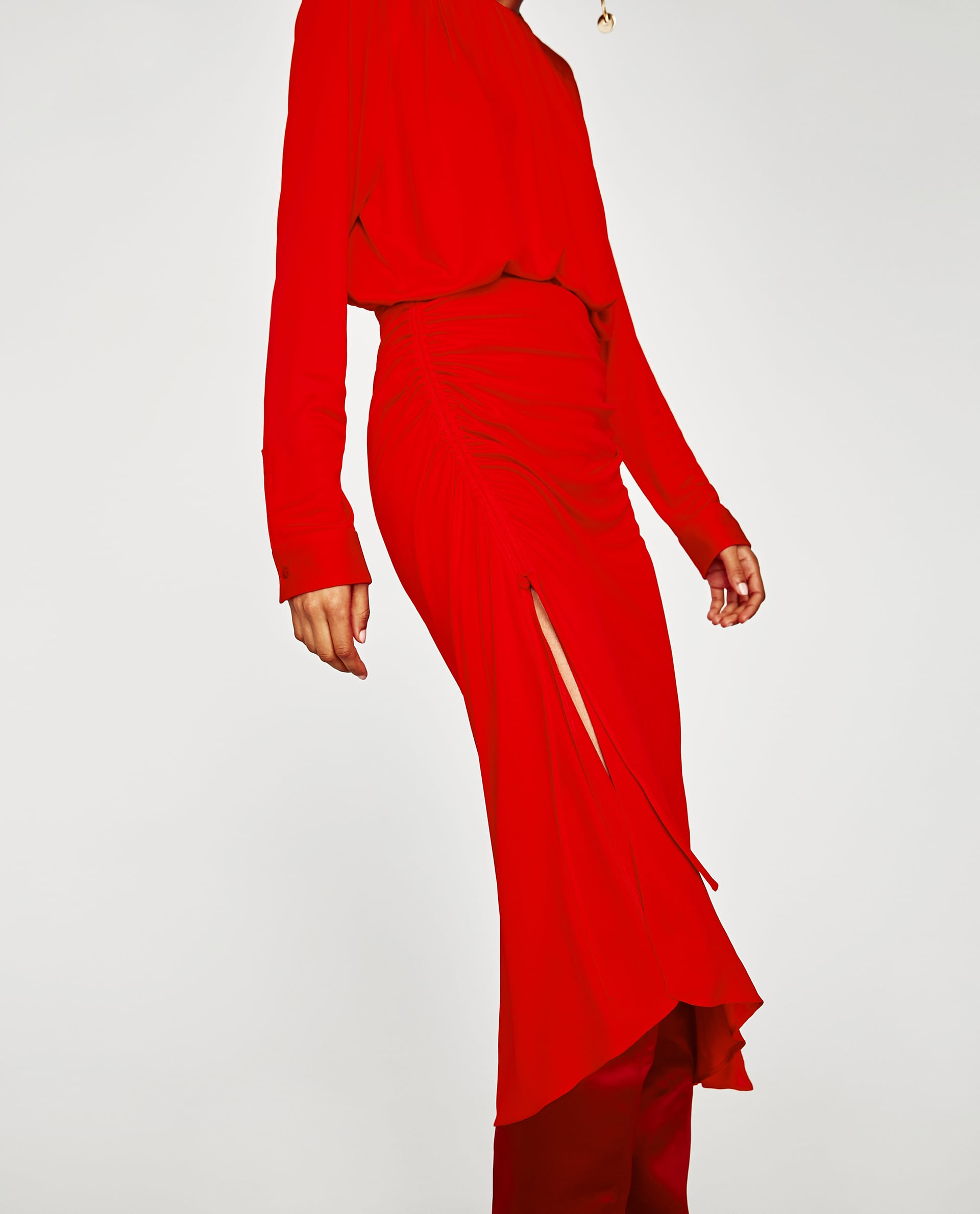 Zara  Show Some Skin: Slits Are In zara slit