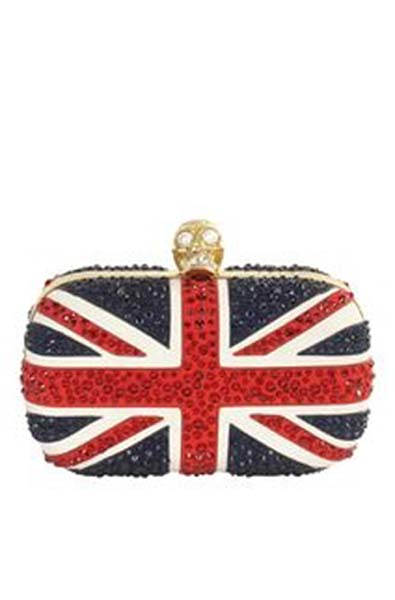 An Olympic McQueen Clutch - Sure, Why Not?