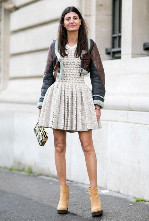Giovanna Battaglia in Paris