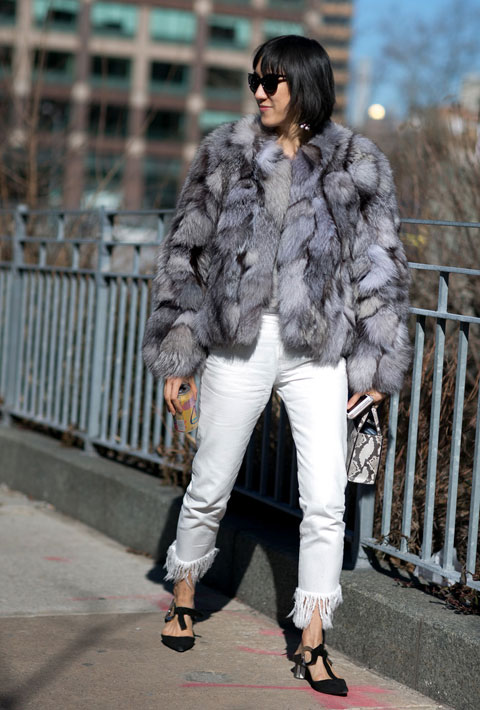 Eva Chen in New York