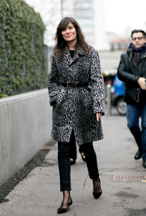 Emmanuelle Alt in Milan