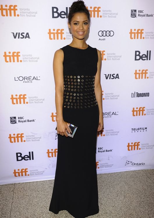 Gugu Mbatha-Raw at the Premiere of Belle