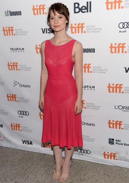 Mia Wasikowska at the Premiere of Tracks