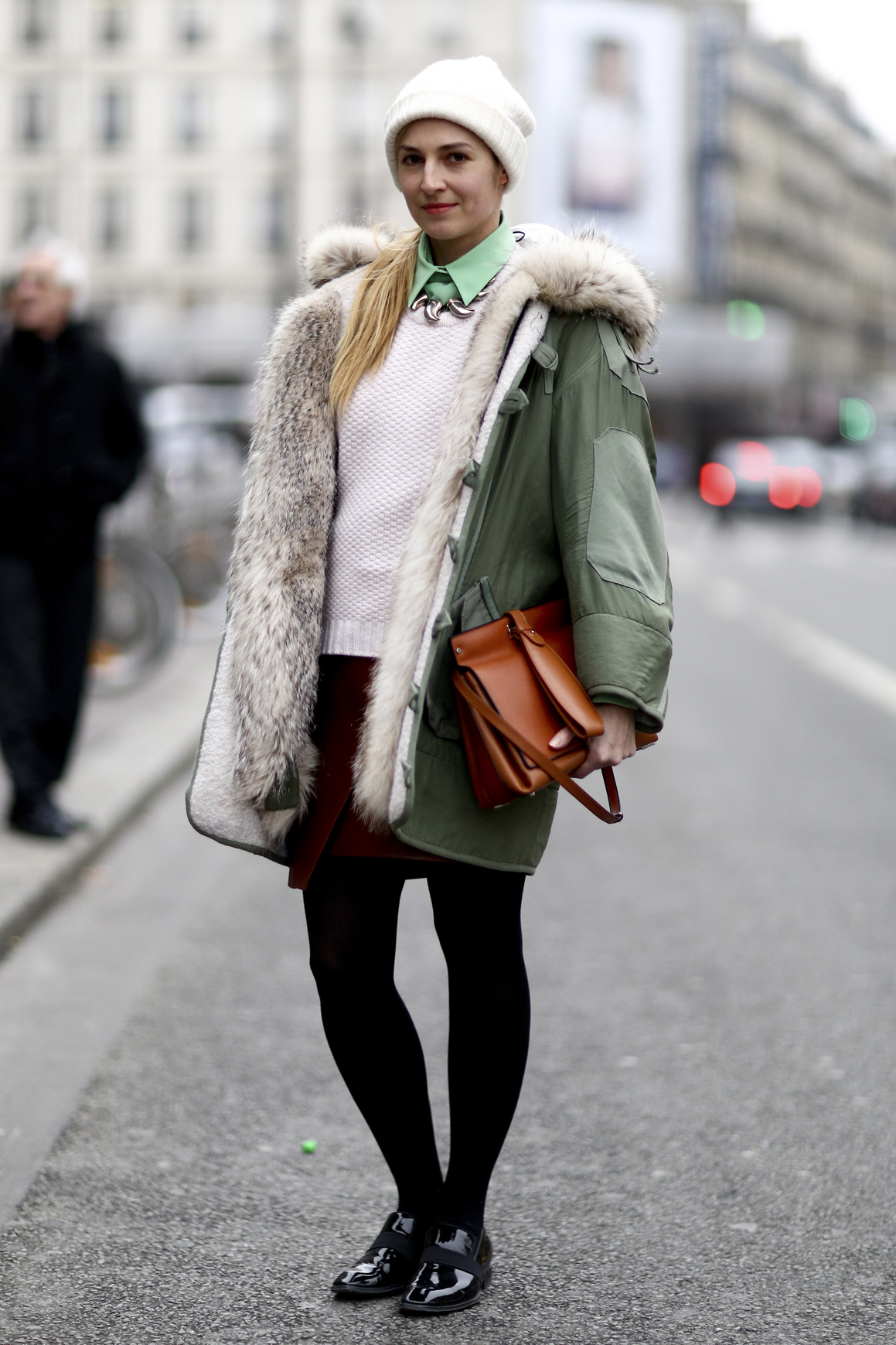 Street Style Coat Trends Fall 2013 - theFashionSpot