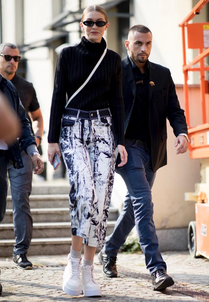 Patterned Pants