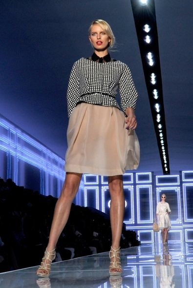 Karolina Kurkova at Christian Dior