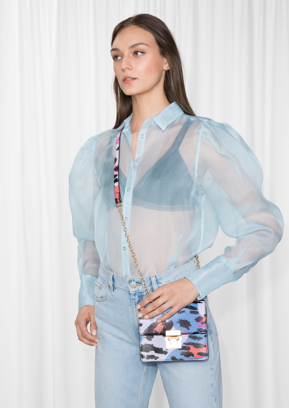 The Sheer Button-Down