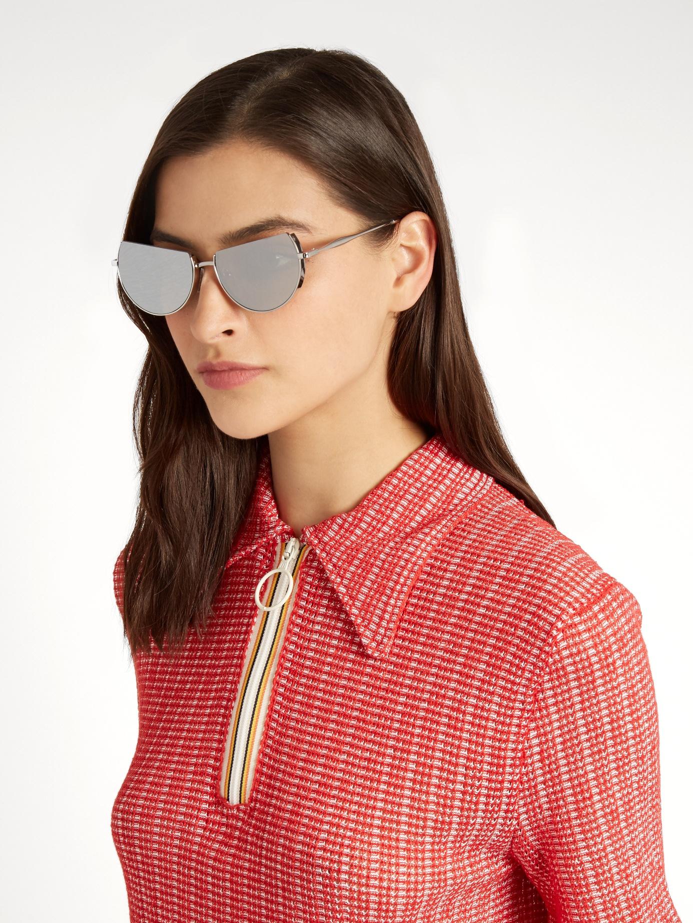 The Reflective Sunglasses
