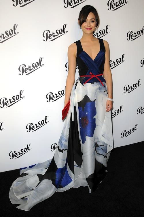 Emmy Rossum's Summer Evening Gown