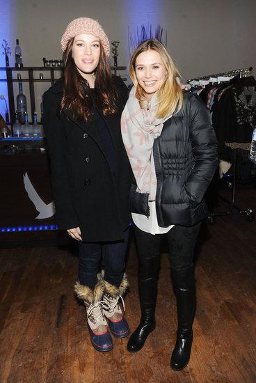 Liv Tyler and Elizabeth Olsen