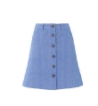Mini Janie Chambray Skirt