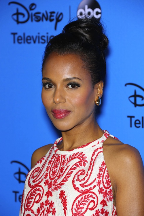 Kerry Washington's Versatile Knot