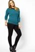 The Jewel-Toned Sweater