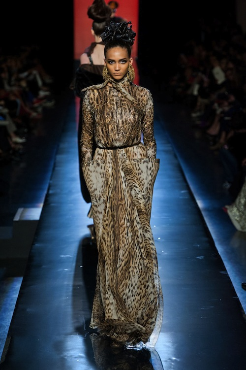 Jean Paul Gaultier's Animal Print Everything