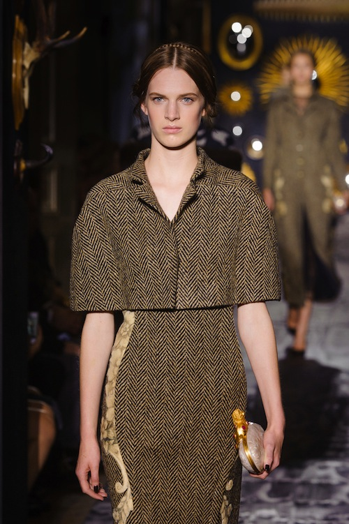 Valentino's Couture Take on Tweed