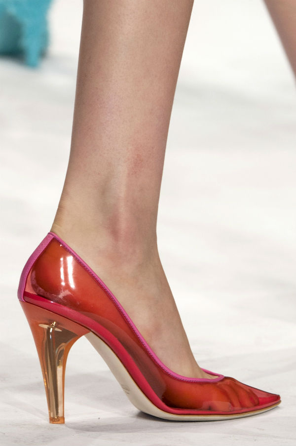 Trend: See-Through Shoes
