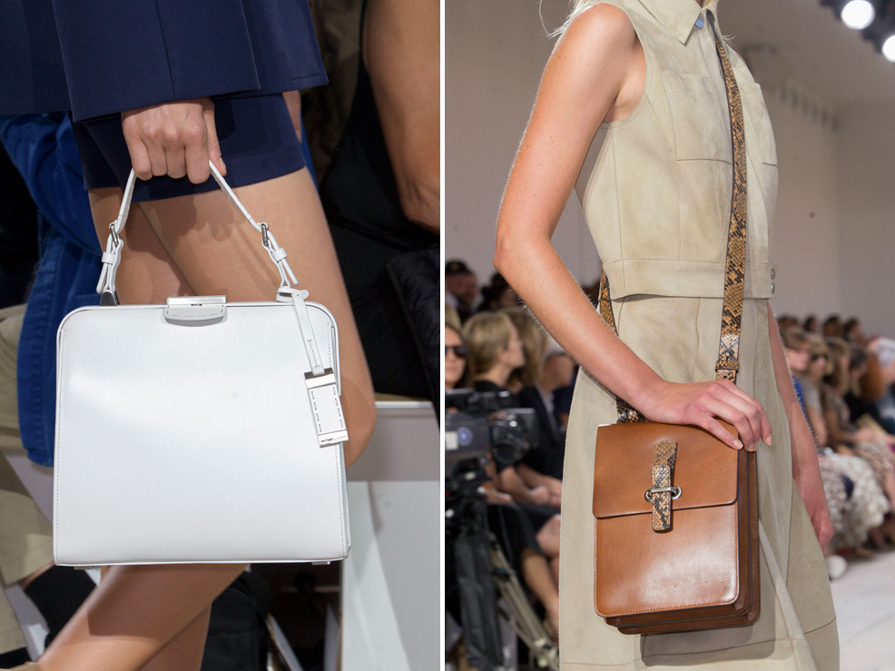 dc98b97d8e The Best Bags of New York Fashion Week Spring 2015 - theFash 2 Michael  Michael Kors handbags new collection ...