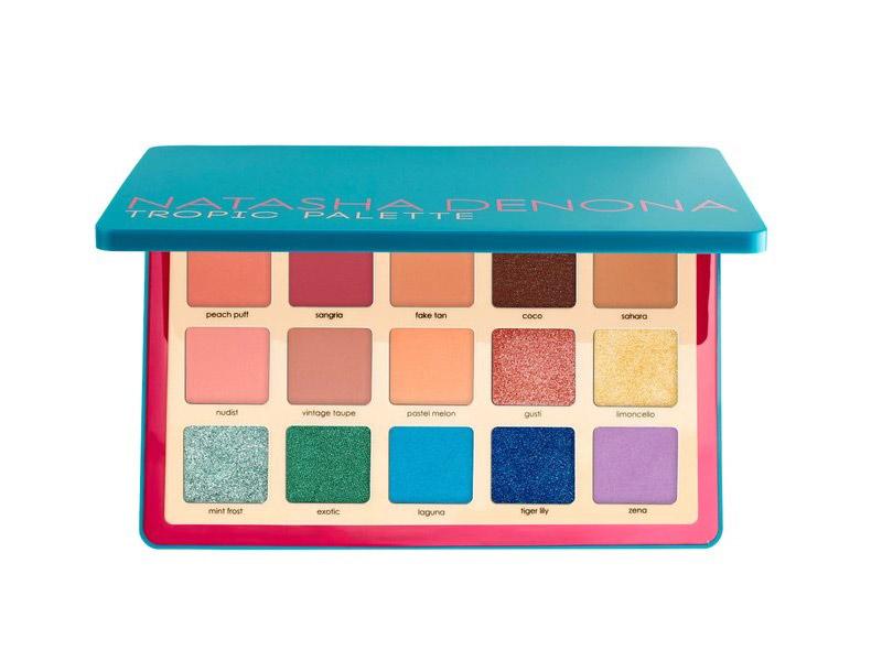 Natasha Denona  22 Gorgeous Eyeshadow Palettes to Add to Your Collection This Spring natasha denona tropic eyeshadow palette