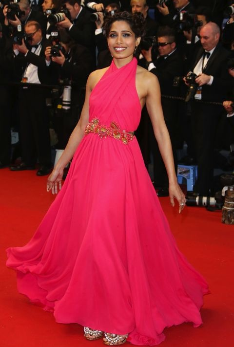 Freida Pinto at the Opening Ceremony and Premiere of The Great Gatsby
