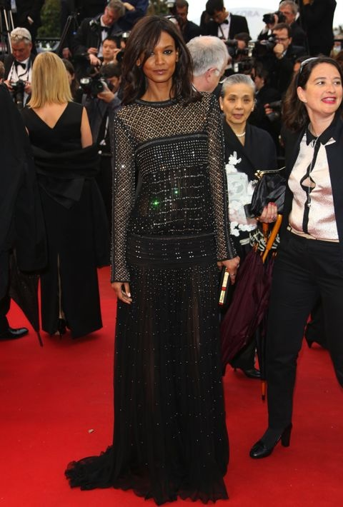 Liya Kebede at the Premiere of Jimmy P. (Psychotherapy of a Plains Indian)