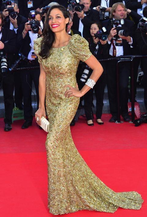 Rosario Dawson at the Premiere of Cleopatra