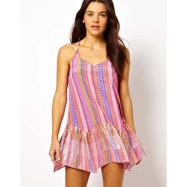 The Flirty Beach Dress