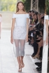 Pear Shape: Exposed Shoulders & Collarbones at Balenciaga