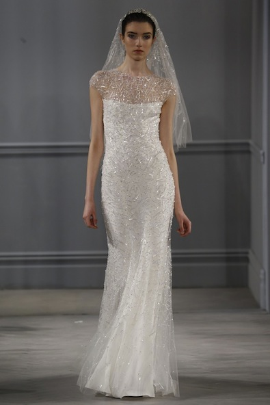 Monique Lhuillier Bridal Spring 2014