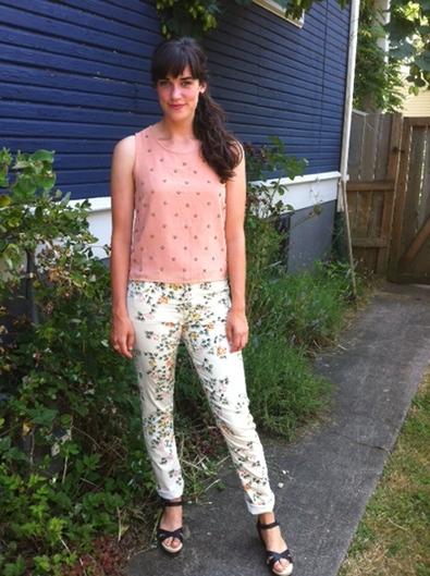 Floral Look #2: Romantic