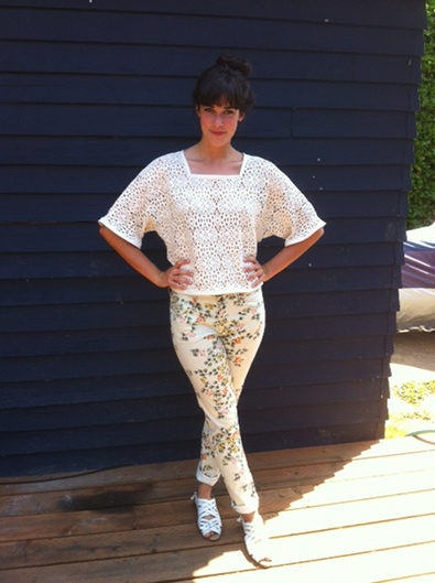 Floral Look #3: Summer Whites