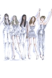 Roberto Cavalli for The Spice Girls
