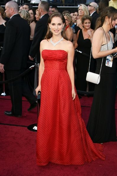 Natalie Portman at the 84th Annual Academy Awards