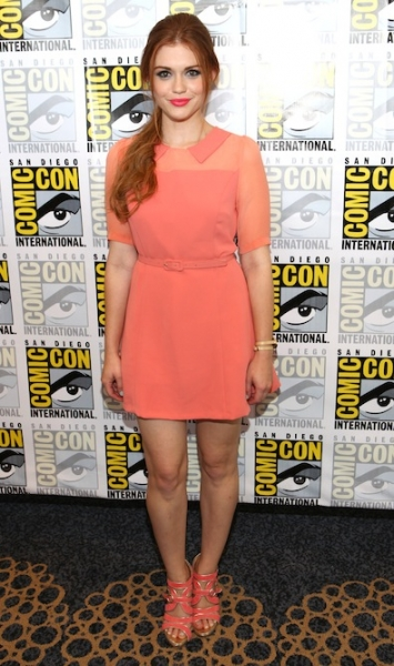 Holland Roden's Coral Frock