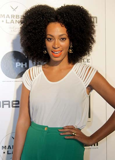 Solange Knowles' Shredded T