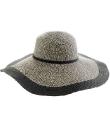 J.Crew Two-Tone Straw Hat