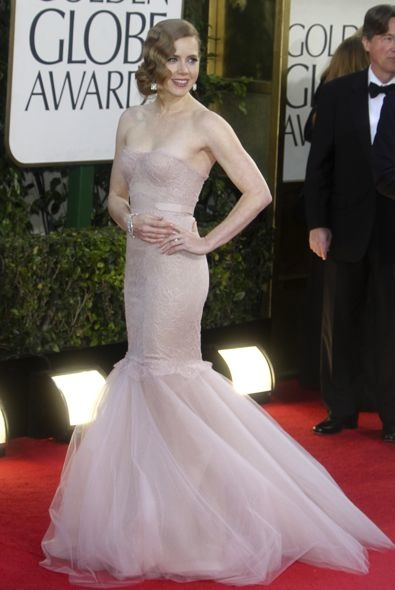 1. Amy Adams at the Golden Globe Awards
