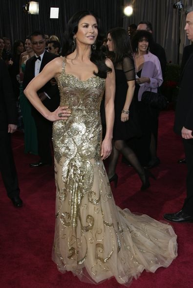 7. Catherine Zeta-Jones at the Oscars