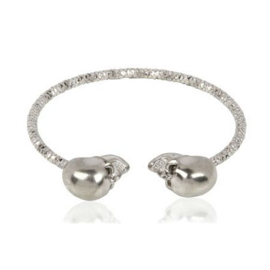 Alexander McQueen Twin Skull Bracelet