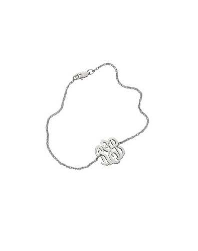 Max and Chloe Lace Monogram Bracelet