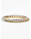 House of Harlow 1960 Engraved Triangle Bangles