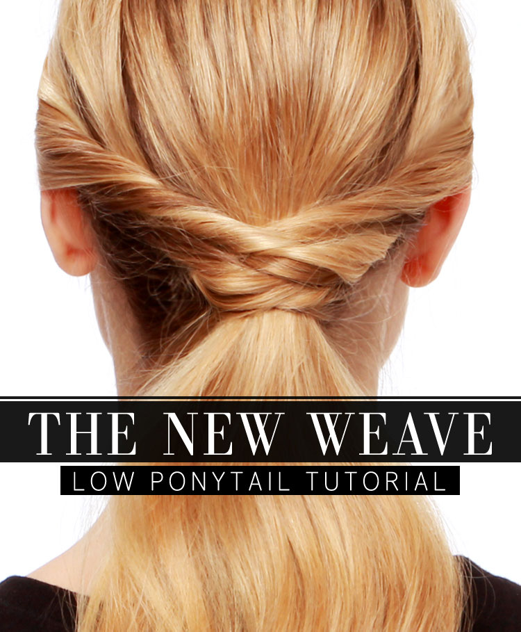 Woven Ponytail
