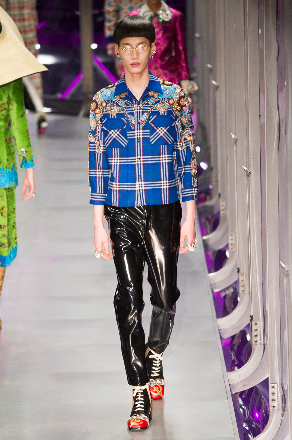 Image result for 70's plaid trend fall 2017